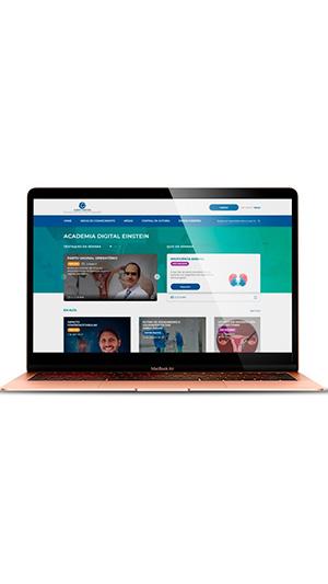 Academia Digital Einstein oferece acervo de qualidade produzido na Instituição